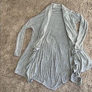 Grey Cozy long cardigan